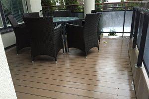 Helppohoitoinen ja kestävä lattiapinnoitus parvekkeelle | Team Suikki - Turku